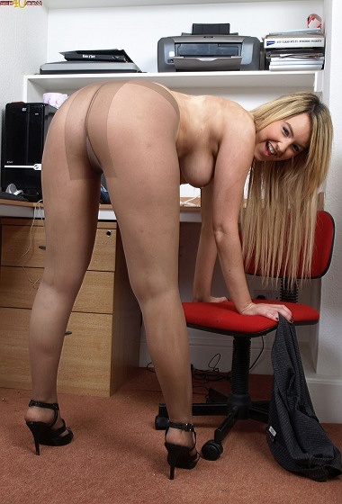 Katie Kay - Slutty Secretary!