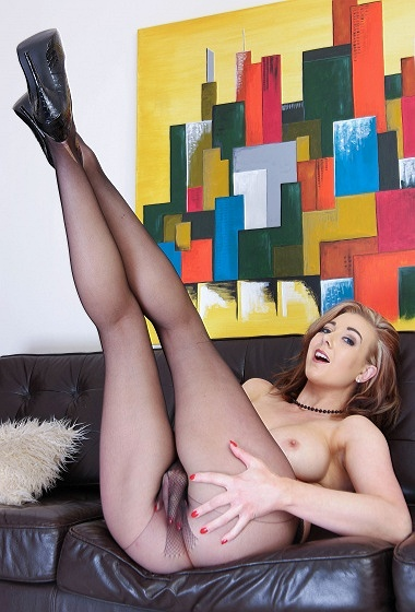 Sapphire Blue - My legs your lust!